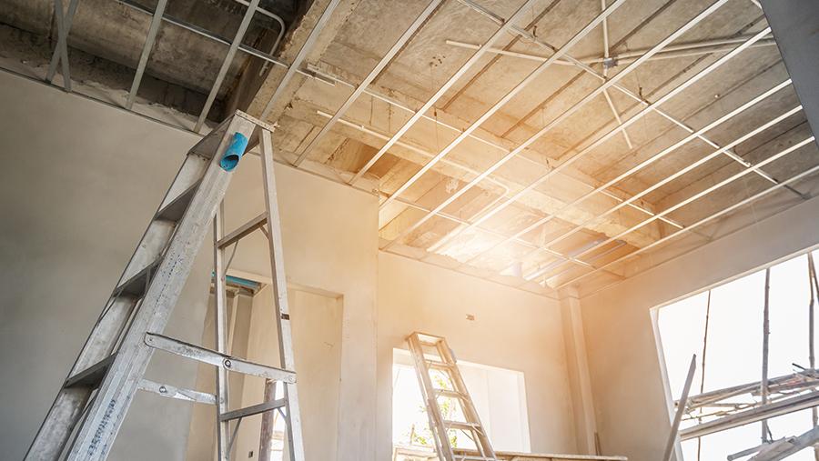 specialist in het plaatsen van plafonds tijdens bouwen of renoveren